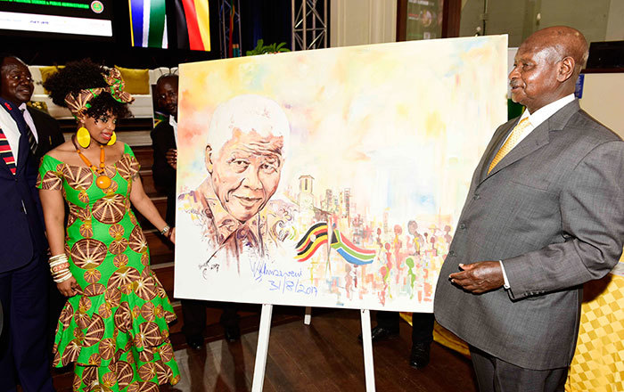 The President launches the Annual Nelson Mandela Commemorative Lecture