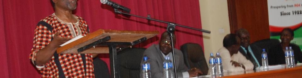 Makerere hosts celebrated poet Prof. Jack Mapanje