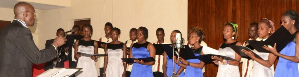 Students of Performing Arts entertain guests at the Inaugural Concert