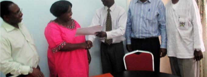 New OSSREA-Uganda Chapter executive committee assumes office