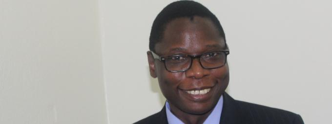 Dr Mark Okot Benge, the new Head, Department of Literature