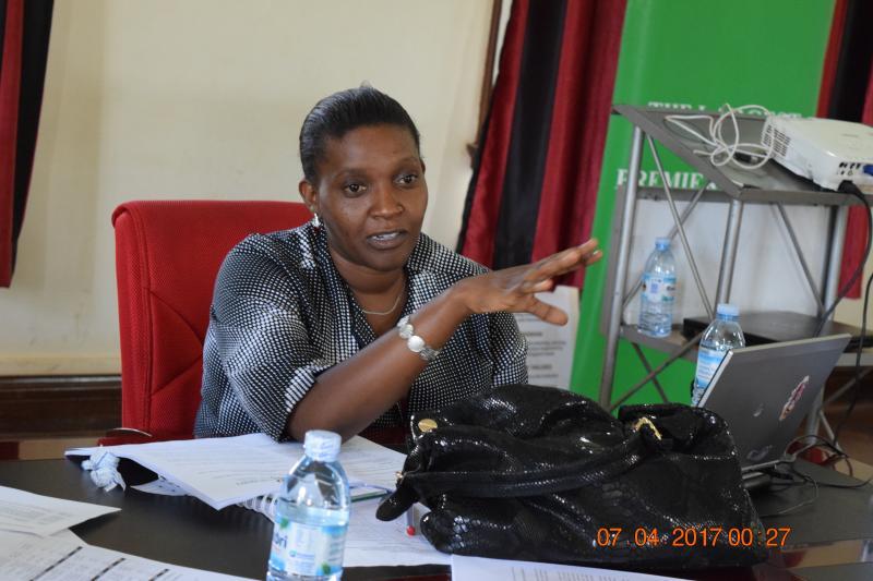 Ms Marjorie Kyomuhendo Niyitegeka convened the workshop