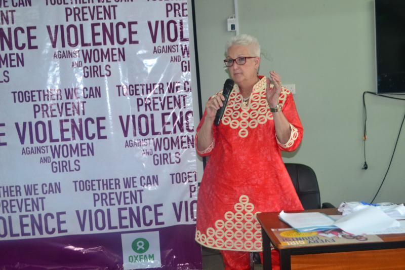 US Ambassador, H.E. Deborah Malac presided over the event