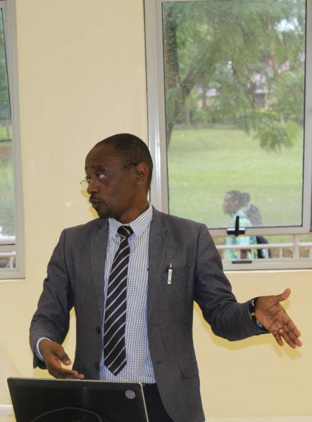Dr Roy William Mayega, member of the Grants Management Committee