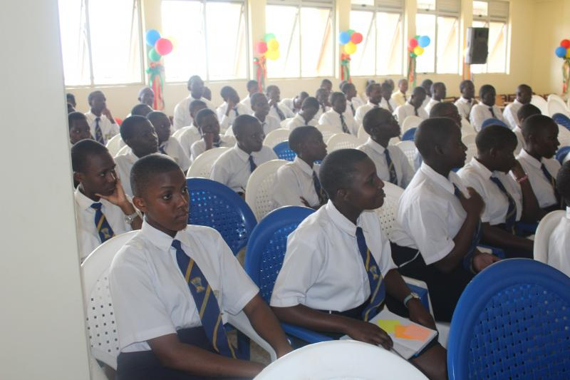 Students of Ndejje Secondary School