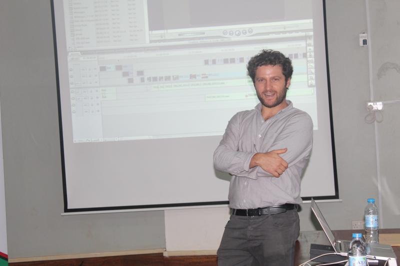 Dr Zingari trained the students