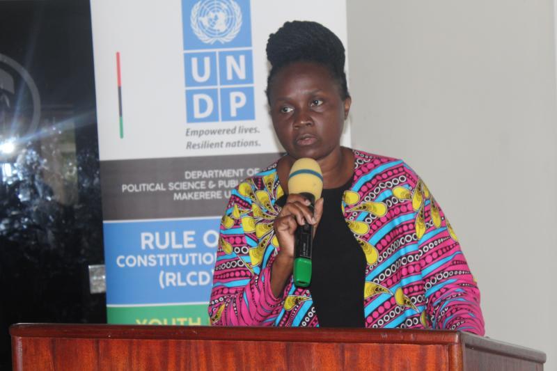 Ms Anette Mpabulungi -Wakabi from UNDP