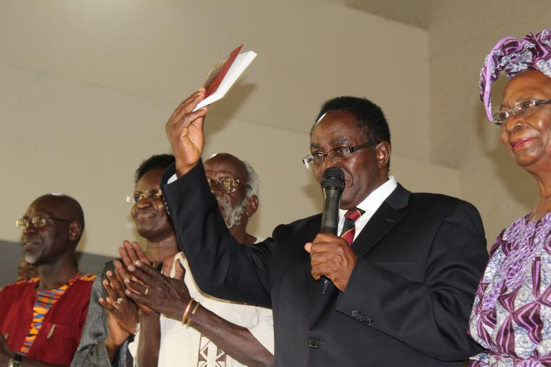 The VC officially launched Omulanga gwa Lawino
