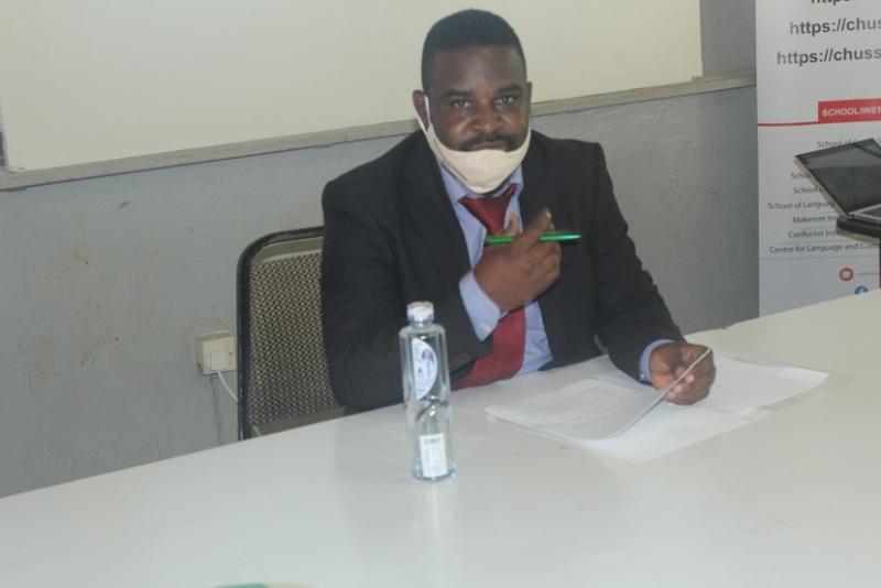 Dr Robert Wamala, Member of the Mak RIF Grant Management Committee
