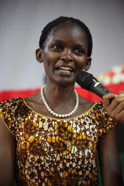 The Head of the Department of Literature, Dr Susan Kiguli