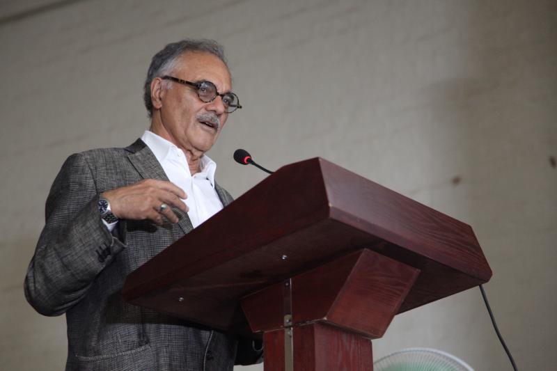 Prof. Mahmood Mamdani chaired the keynote address