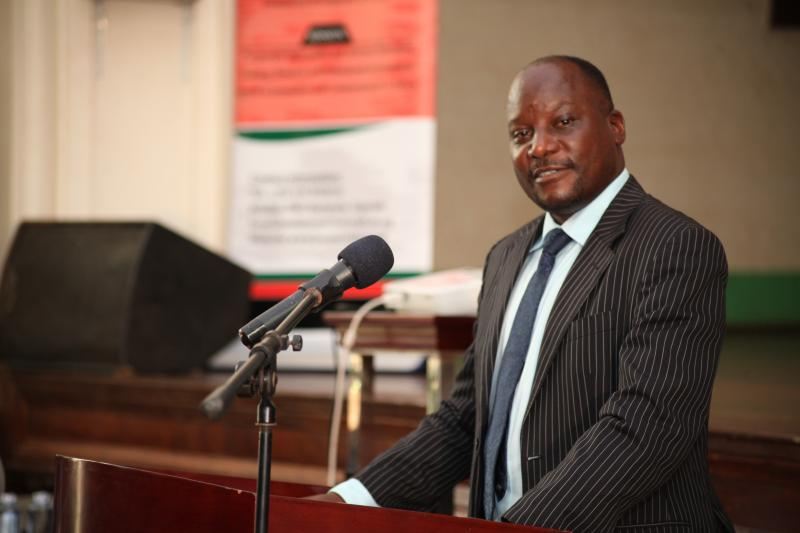 Dr Merit Kabugo represented the Dean School of Languages, Literature and Communication
