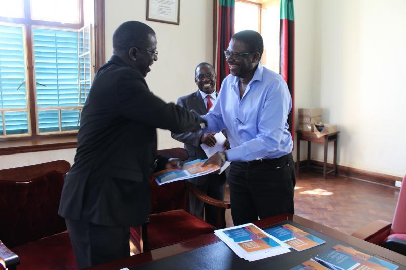 One of the authors, Prof. Oloka Onyango