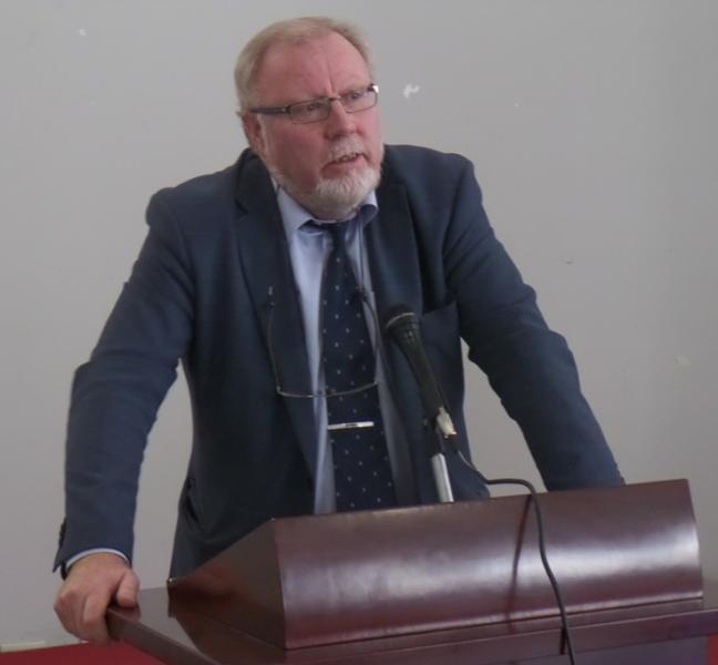 Prof. Leif Manger, University of Bergen