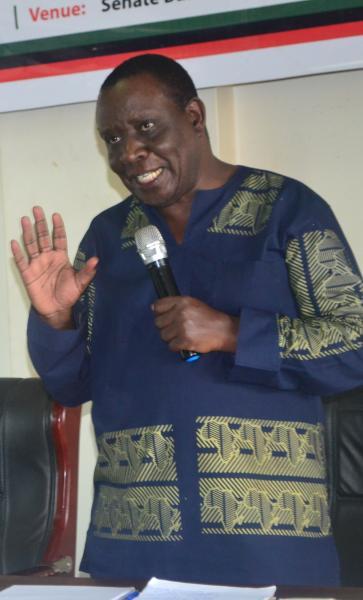 Mr Mwambutsya discussed the paper