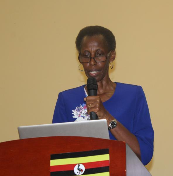 Prof. Chibita delivered the keynote address