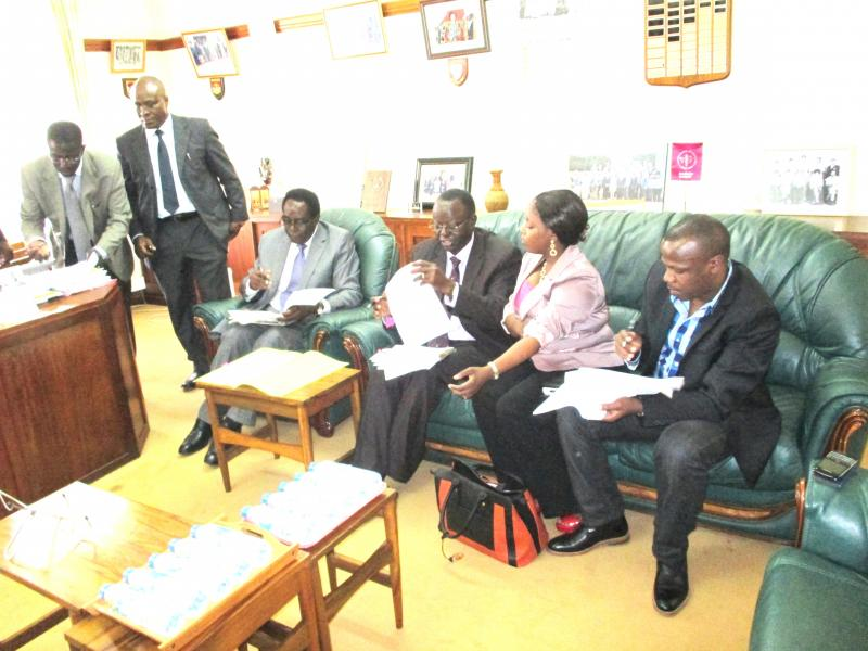 The MAK-FUE MOU signing session