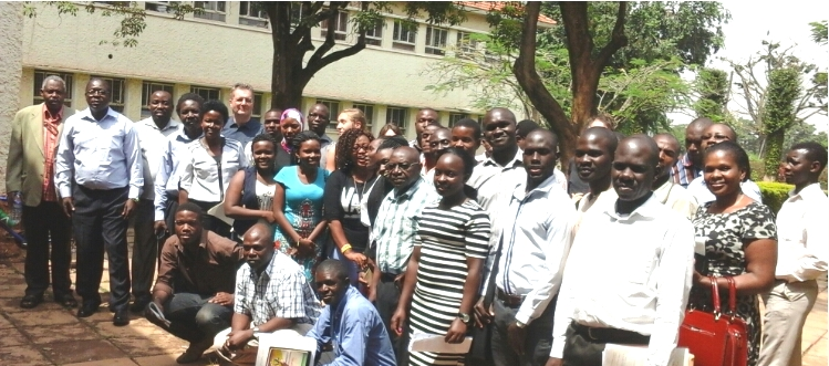 Participants from Makerere University and the University of Zurich