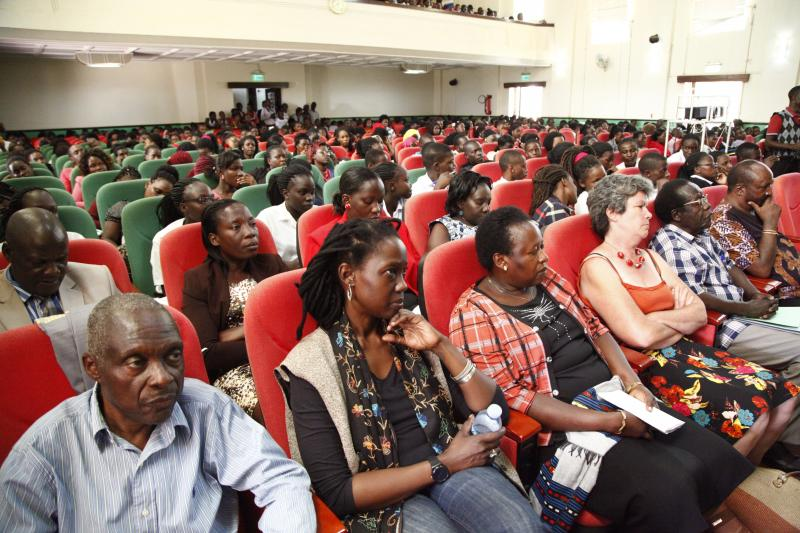 Some of the guests who attended the symposium
