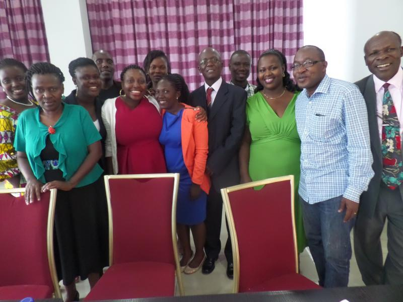 The Makerere group attending the NORHED Research Seminar in Addis Ababa